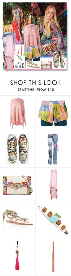 """Find Yourself..."" by sue-mes ❤ liked on Polyvore featuring Puma, adidas, RVDK, Valentino, Pinko, The Palatines, Ermanno Gallamini and tarte"