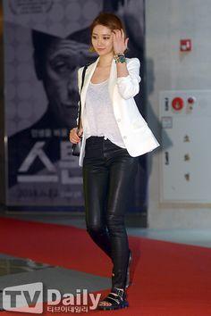 "[2014.06.02] Go Joon Hee at the ""High Heel"" VIP premiere"
