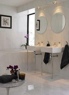 Bardiglio - large format marble effect ceramic tile
