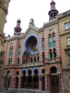 Restored Synagogue in Prague