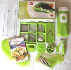 BNIB Nicer Dicer Plus - Kitchen Food Processor & Accessories - AS SEEN ON TV