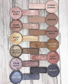 Makeup Geek Naked palette dupes