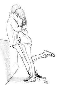 casal abraçado desenho - Pesquisa Google