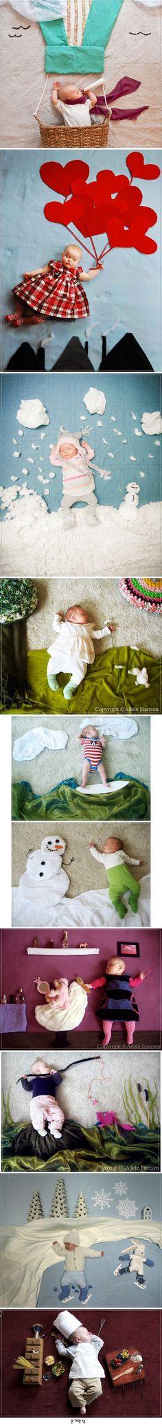 Mila's Daydreams 잠자는 아기 몰래 찍은 컨셉사진