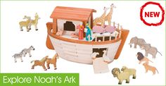 Explore Noahs ark