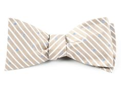 ARBOR STRIPE - LIGHT CHAMPAGNE   Ties, Bow Ties, and Pocket Squares   The Tie Bar