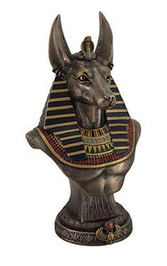 Anubis Egyptian God Bust Statue Sculpture Zeckos http://www.amazon.com/dp/B00TSP2L5K/ref=cm_sw_r_pi_dp_g2dewb1ATPS3Y