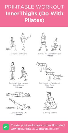 (Do With Pilates): Mein visuelles Training, das bei . InnerThighs (Do With Pilates): Mein visuelles Training, das bei .InnerThighs (Do With Pilates): Mein visuelles Training, das bei . Pilates Training, Pilates Workout, Workout Plan Gym, Planet Fitness Workout Plan, Fitness Studio Training, Gym Workout Plan For Women, Gym Workouts, At Home Workouts, Dumbbell Leg Workout