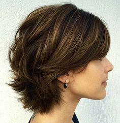 short fuller hair style