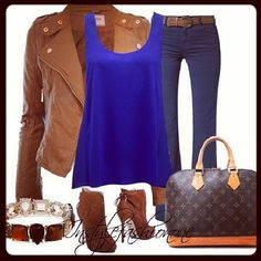 Fall outfit Dear mom, you have this jacket and boots that color I'm pretty sure you have that color shirt to add the pair jeans already have and voilà' Love Carrie Fall Winter Outfits, Autumn Winter Fashion, Winter Clothes, Winter Style, Summer Outfits, Tan Leather Jackets, Only Fashion, Women's Fashion, Boutique