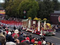 Delta Sigma Theta Sorority, Inc. Float in the 2013 Parade of Roses Parade! Ooo-Oop!