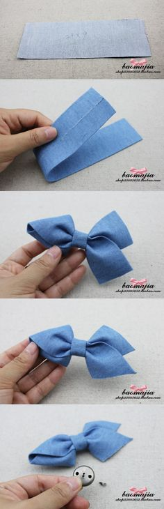 Bow hairpin