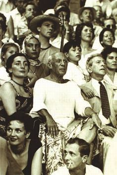 Picasso at the Bull Fight