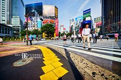"""Scramble Crossing"" Shibuya Tokyo Japan by davidgutierrez.co.uk"