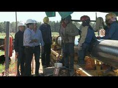 El Gasoducto Norte nace en Campo Durán (Salta) y, luego de 1.454 km, llega a la planta compresora San Jerónimo (Santa Fe). A lo largo de su traza se ubican 12 plantas compresoras. El sistema posee una capacidad de inyección de 26 millones de metros cúbicos diarios y una longitud total de 4.509 km, si se suman los tramos que alimentan el Gran Buenos Aires - http://www.cfkargentina.com/infraestructura-para-la-provincia-de-santa-fe-gasoducto-del-noreste-y-plan-mas-cerca/