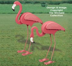 All Yard & Garden Projects - Life-Size Flamingos Woodcrafting Pattern Flamingo Craft, Flamingo Decor, Flamingo Pattern, Flamingo Party, Pink Flamingos, Yard Flamingos, Animal Projects, Wood Projects, Woodworking Projects