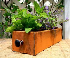 Boîte de planteur de Herb cèdre intérieur par TimberlaneGardens