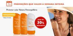 Promoção que vale pra semana, de 06 a 12/10, você confere aqui, acesse www.rede.natura.net/cn/ananascimento