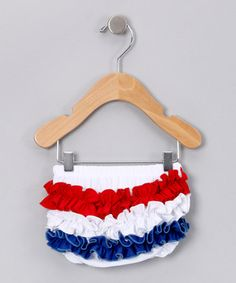 4th of july ruffle diaper cover
