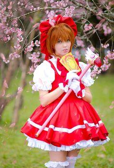 Sakura Kinomoto, cosplayed by JuTsukino