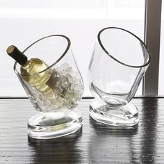 Global Views Wine Chiller Slanted Design from @Zinc_Door