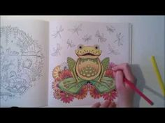 Enchanted Forest - Johanna Basford; Frog - YouTube