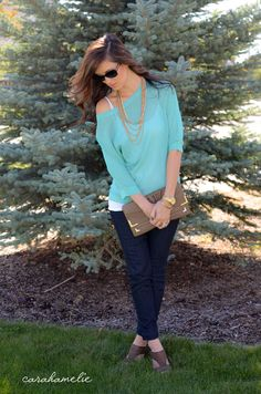 Outfit Ideas - Fall for Mint - 10.6.12 — Carah Amelie