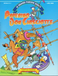 PAPERINO DON CHISCIOTTE - Le Grandi Parodie Disney n. 2 (1992)