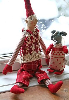 Beautiful handmade Elf                                                                                                            Christmas 09             by        Live Bohemian      on        Flickr