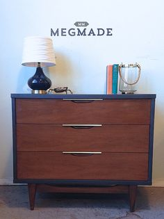 Amazing MCM Dresser by MegMade 2081 by megmadechicago on Etsy, $350.00