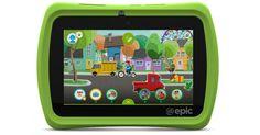Amazon: LeapFrog Epic 7″ Android-Based Kids Tablet 16GB $70.37 (Reg $139.99) - http://couponsdowork.com/amazon-deals/amazon-leapfrog-epic-7%e2%80%b3-android-based-kids-tablet-16gb-70-37-reg-139-99/