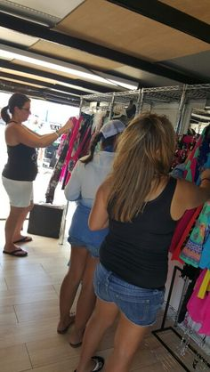 Shoppers finding awesome deals in Lola's Street Boutique