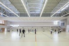 Gallery of Gymnase Jean Gachet / LINK - Chazalon Glairoux Lafond - architectes associés - 3
