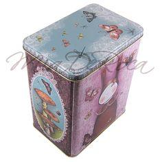 Lacy Metal Box Emma - MiaDeRoca Shops, Home Accessories, Metal Box, Rabbit Ears, Tents, Home Decor Accessories, Retail, Retail Stores