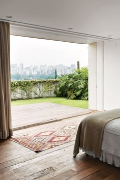 kilim rug in a room with a view