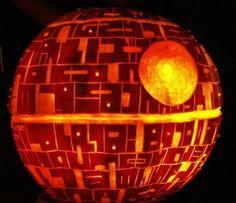 La Morte Nera di Star Wars - Carved Pumpkin - Zucche di Halloween