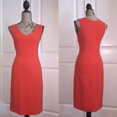Joseph Dress Sexy orange dress Joseph Dresses