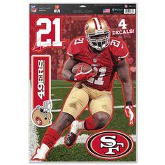 "San Francisco 49ers Frank Gore 11""x17"" Multi-Use Decal Sheet"