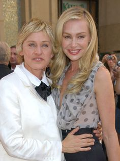 Best Lesbian couple I know..... I LOVE Ellen and Portia. I have the Ellen of my life :)