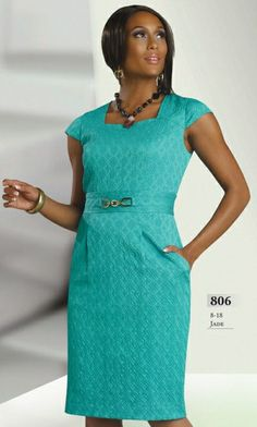 Chancelle 806 Church Dress with Pockets