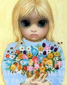 """""""The Florist"""" ~ Margaret Keane"""