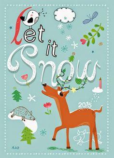 Let's Create Together: Let it snow, let it snow....
