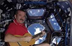 """""""Jewel in the Night:"""" Original Music and Pictures from a Space Station Christmas"""
