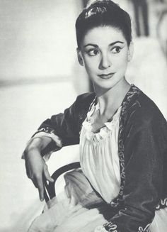Margot Fonteyn (1919-1991) English Ballerina with the Royal Ballet,  appointed Prima Ballerina Assoluta by HM Queen Elizabeth II.