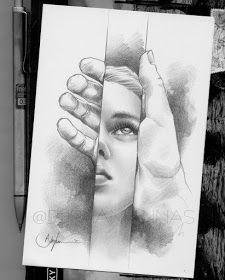 Beautiful Pencil Drawings, Pencil Drawing Images, Abstract Pencil Drawings, Beautiful Sketches, Dark Art Drawings, Realistic Drawings, Cool Drawings, Pencil Sketch Art, Joker Pencil Drawing