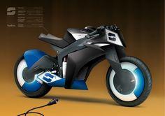 Bako imagine le futur avec sa moto électrique