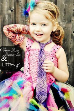Boys Neck Tie Purple Floral Pattern by littlevys on Etsy, $20.00