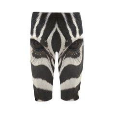 Zebra Cropped Leggings. FREE Shipping. FREE Returns. #leggings #zebra