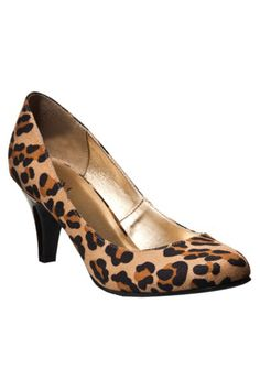 Here's an example of a modest, professional shoe that has a fun side! You don't have to strip your whole professional wardrobe of color and print. You just need to know where the line is drawn :)