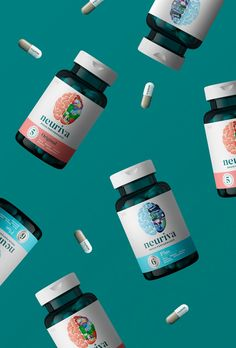 While health supplements packaging design, one has to be aware of their target audience.Vitamin packaging is modern and urban now focusing on pattern Drug Packaging, Medical Packaging, Beauty Packaging, Health Ads, Packaging Design Inspiration, Design Thinking, Planer, Photoshop, Package Design